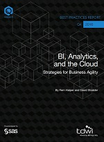 BI, Analytics and the Cloud; Strategies for Business Agility